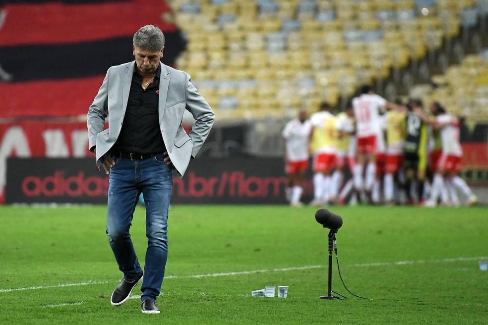Renato Gaúcho, Flamengo x Internacional, Brasileirão — Foto: Alexandre Durão