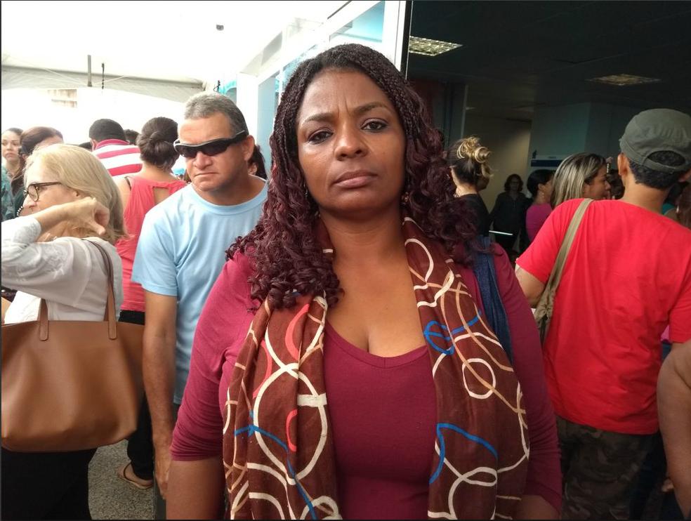 Lionilda Simão, presidente do Sintero (Foto: Hosana Morais/ G1)