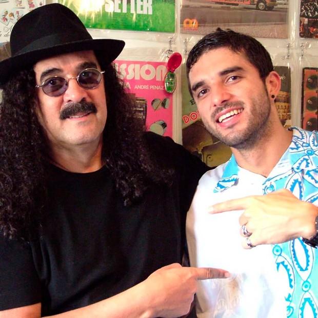Moraes Moreira e o filho, David Moraes - Foto: Reprodução/ Instagram
