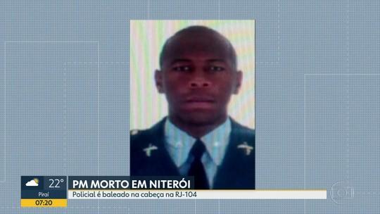 Policial Militar é morto por bandidos em Niterói