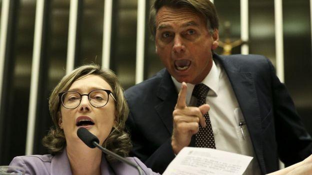 Em novembro do ano passado, o STJ confirmou a condenação de Bolsonaro por danos morais contra a deputada Maria do Rosário (Foto: MARCELO CAMARGO / AGÊNCIA BRASIL)