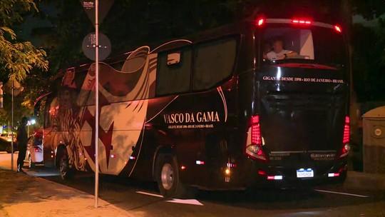"""Bancada do Redação lamenta agressão ao time do Vasco, e Barreto critica: """"Inaceitável"""""""