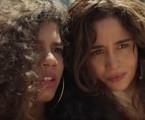 Verena (Maria) e Érica (Nanda Costa) em 'Amor de mãe' | Reprodução