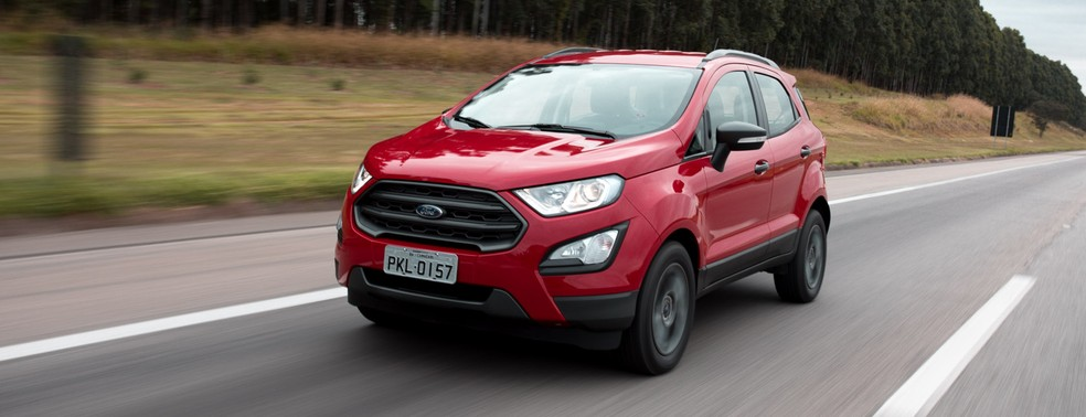 Ford EcoSport FreeStyle 2018 (Foto: Marcelo Brandt / G1)