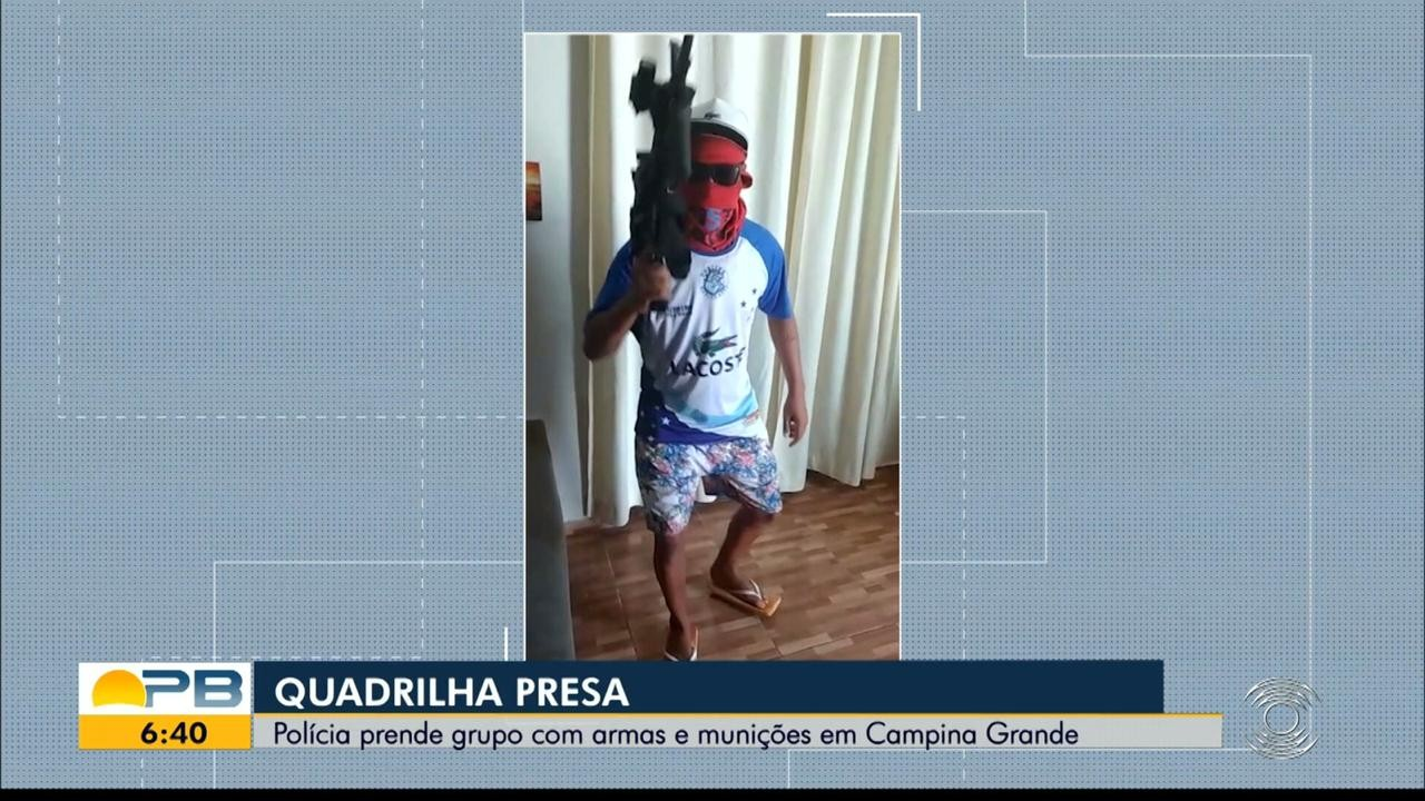 Nove pessoas são presas suspeitas de envolvimento em assalto a agência bancária, na Paraíba