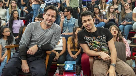 Murilo Benício revela que foi o último a saber de convite para filho, Antonio, participar de 'Amor de Mãe'