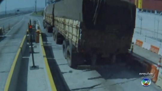 Três caminhoneiros são presos por evasão de pedágios na Castello Branco