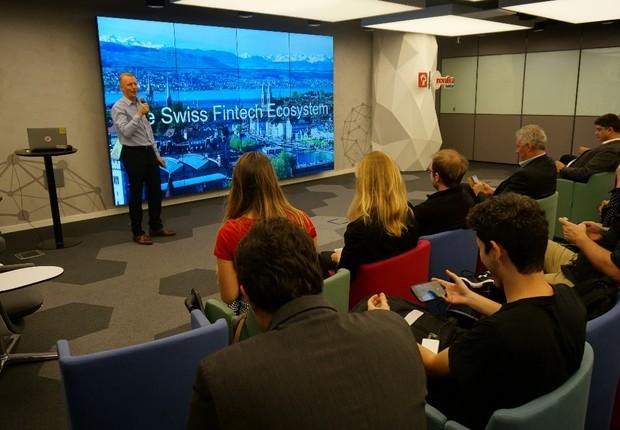 Marc Lussy, senior mentor da incubadora e aceleradora F10 (Foto: Divulgação/Swissnex Brazil)