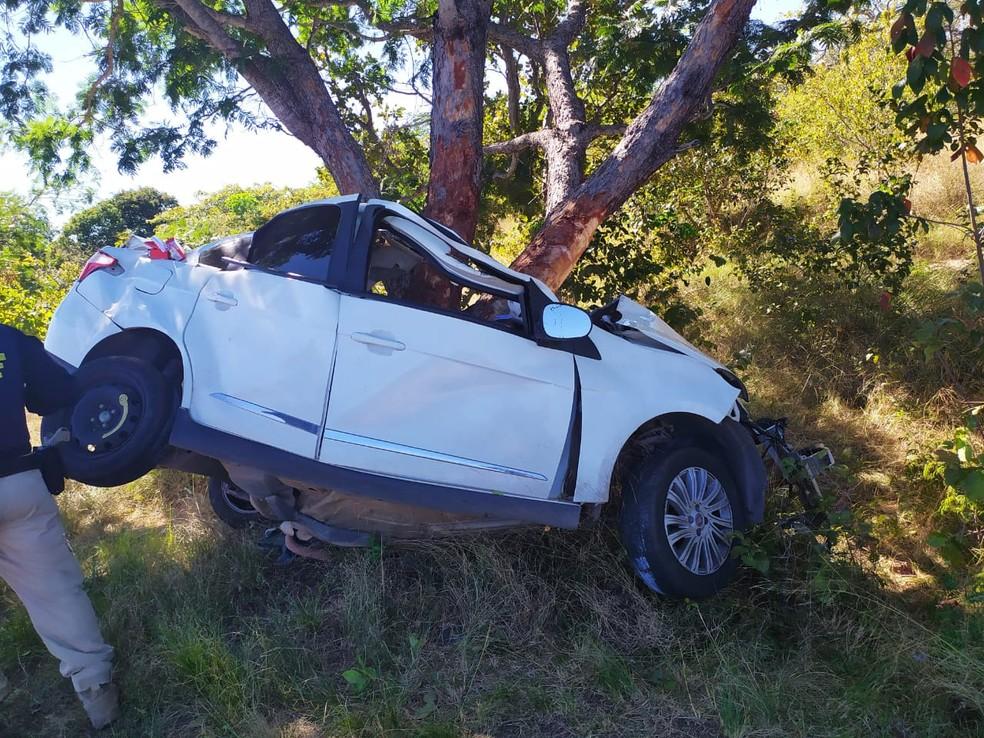 Presidente do PSL Teresina capitão Anderson morre em colisão na rodovia na BR 343 — Foto: Divulgação/PRF