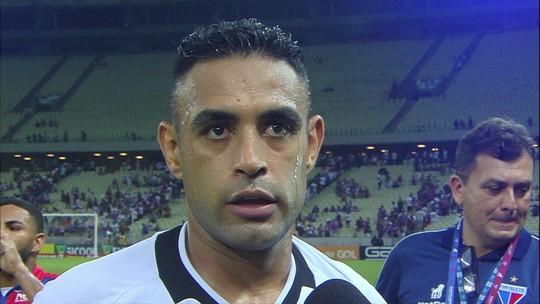 """Werley lamenta gol no fim sofrido pelo Vasco: """"Deixamos dois pontos aqui"""""""