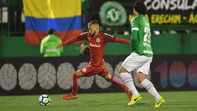 Nico López marcou contra a Chapecoense