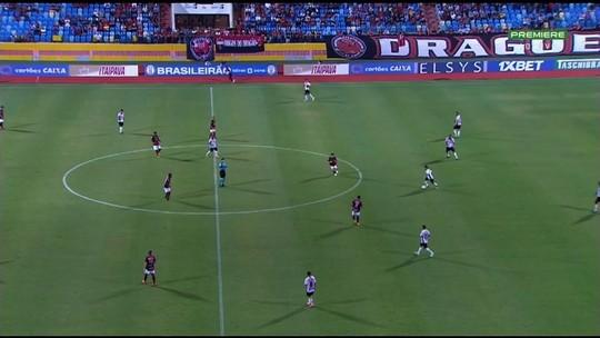 Tencati lamenta vitória que escapou e cobra maior maturidade do Atlético-GO