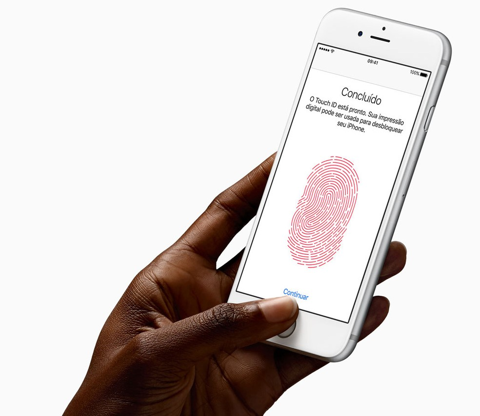 Touch ID has been a feature on iPhone since 2014;  users expect similar function in Android 10 (Q) - Photo: Press / Apple