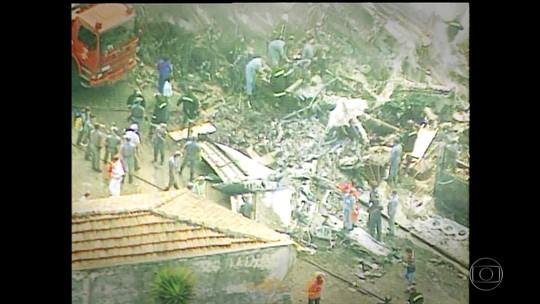 Mulher de morto em queda de Fokker diz que assistência da TAM foi precária