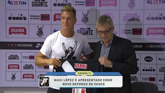 Vasco apresenta o atacante argentino Maxi López