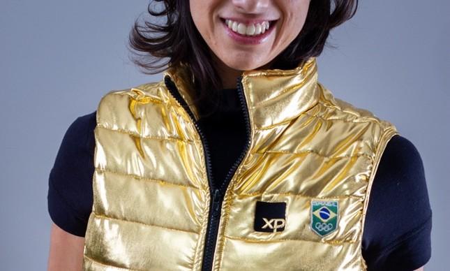 Colete olímpico da XP