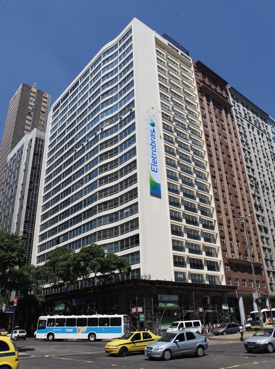 O prédio da Eletrobras no Rio de Janeiro (Foto: Jorge Coelho/Divulgação Eletrobras)