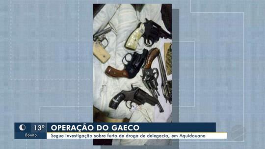 Policiais civis são presos em operação do Gaeco, em MS