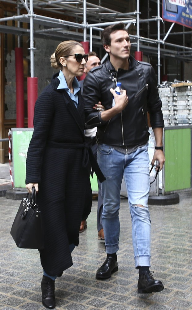 Pepe Munoz e Céline Dion (Foto: The Grosby Group)