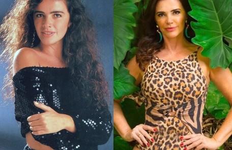 Luma de Oliveira viveu Ana Maria. A atriz engravidou durante a novela e, com isso, a personagem precisou ser assassinada na trama. Foi o último trabalho de Luma na TV. Hoje, ela é empresária TV Globo - Reprodução/Instagram