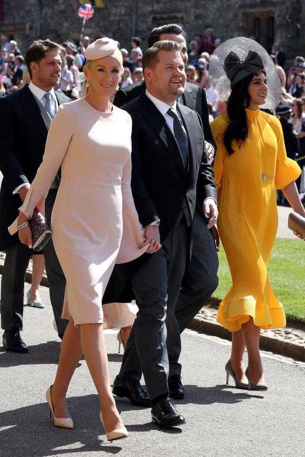 James e Julia Corden (Foto: Getty Images)