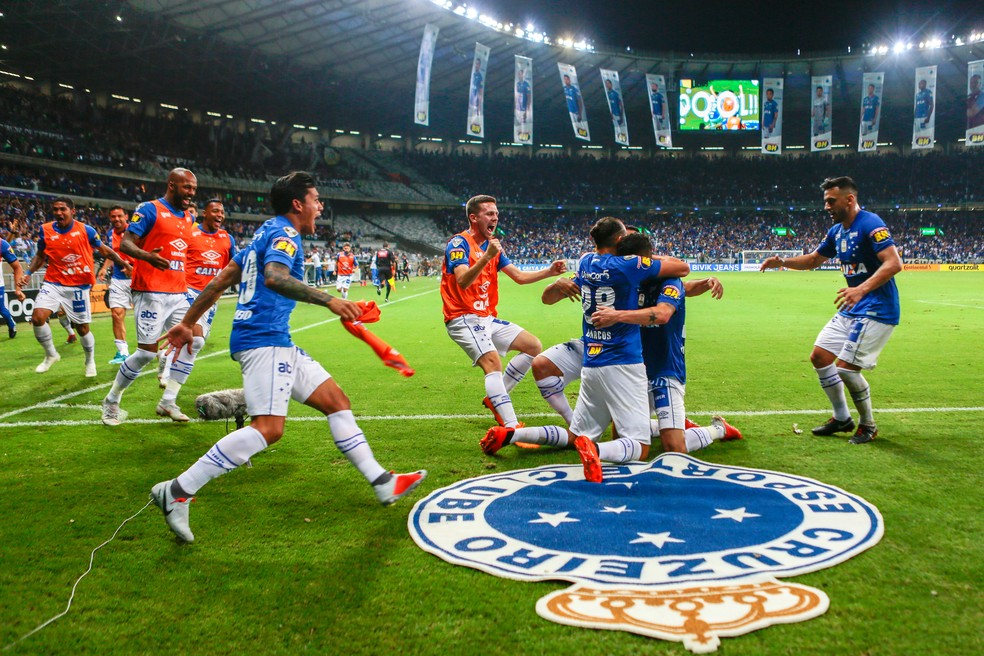 Cruzeiro vence jogo de ida e joga pelo empate para levar a taça — Foto: Agência Estado