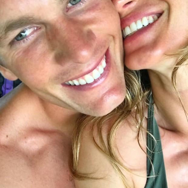 Tom Brady e Gisele Bündchen (Foto: Instagram Tom Brady/ Reprodução)