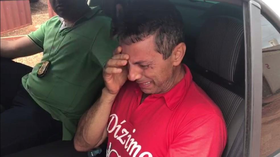 Carlos Roberto Martins foi encontrado em Águas Lindas de Goiás (Foto: Polícia Civil/Divulgação)
