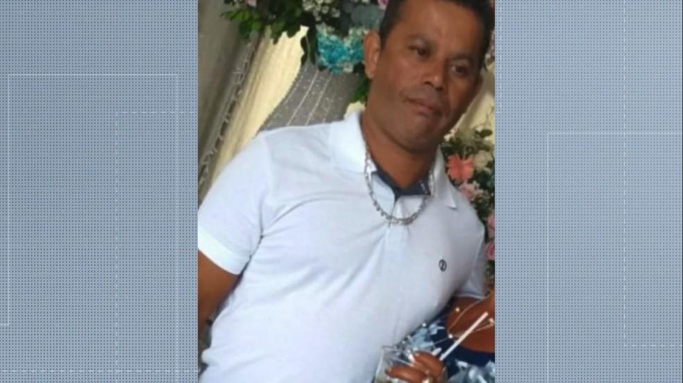 O pedreiro Aloísio Bandeira foi morto a tiros a caminho do trabalho — Foto: Reprodução/TV Gazeta