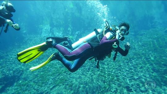 Segundo capítulo da Expedição Brasil tem rapel, mergulho e descida de caiaque; fotos