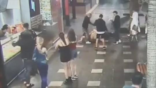 Morre catarinense que foi agredido na Austrália