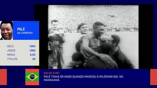 """Jornalista comenta os 50 anos do milésimo gol de Pelé: """"São os únicos mil gols que eu levo a sério"""""""