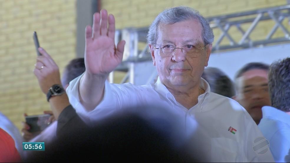 Jayme Campos (DEM), candidato ao Senado (Foto: TVCA/ Reprodução)