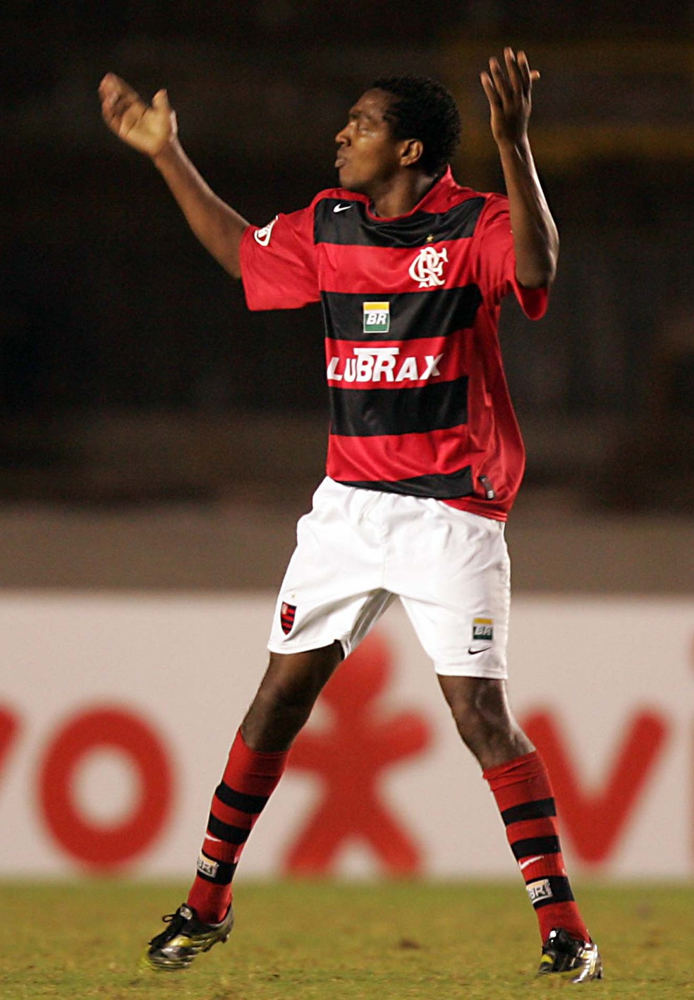 Renato Abreu foi o principal jogador no título da Copa do Brasil de 2006 — Foto: Agência Estado