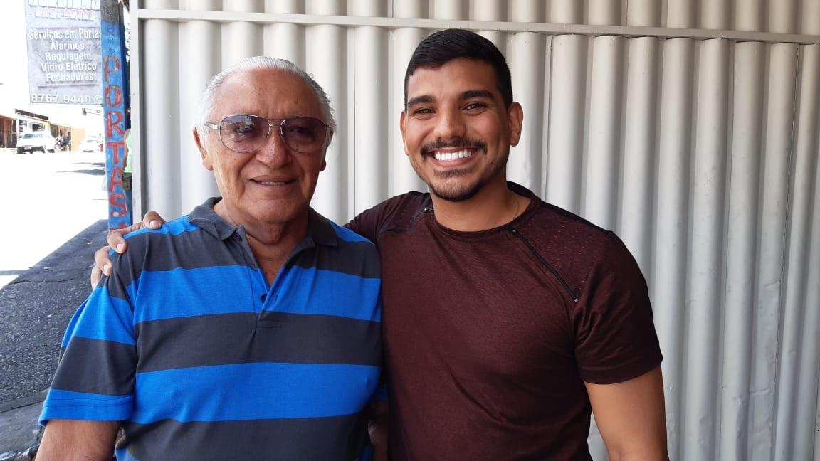 'Ganhei um filho', diz idoso após atropelar jovem e ser consolado pela vítima em Natal - Notícias - Plantão Diário