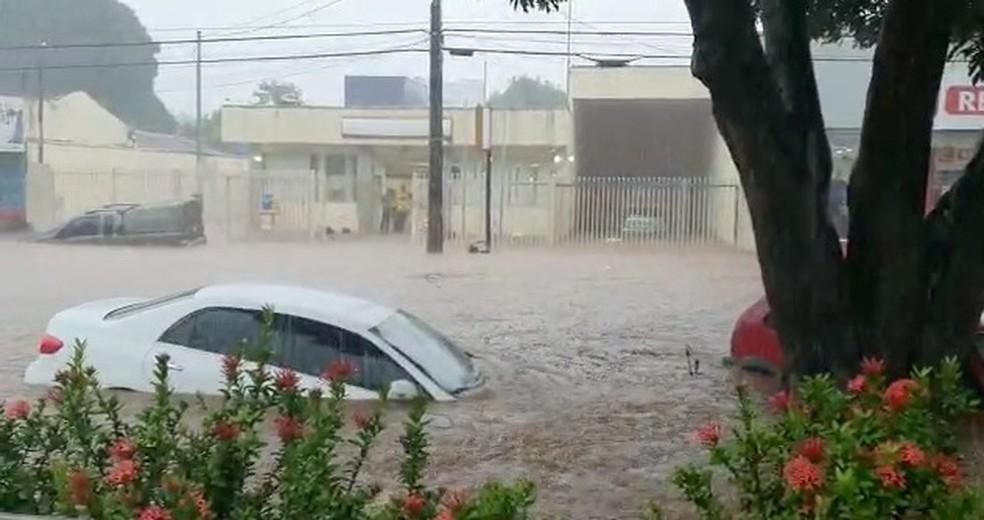 Chuva causou estragos em Guaraí — Foto: Divulgação