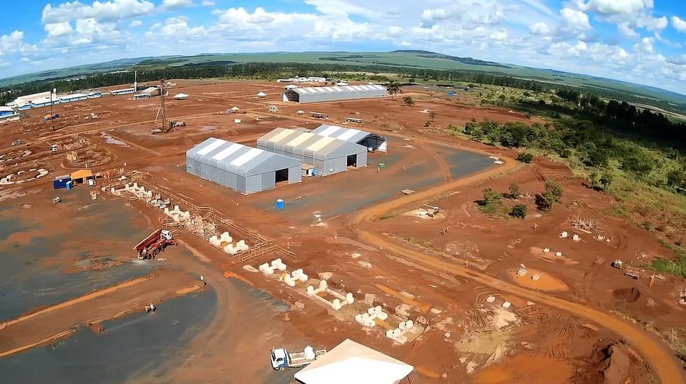 Obras da UFN-V em Uberaba estão suspensas desde de 2015 (Foto: Prefeitura de Uberaba/Divulgação)