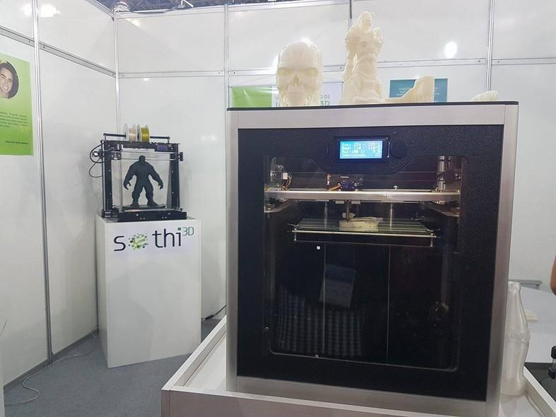21da4afb1 A Impressora 3D da Sethi 3D é uma opção para criar diversos itens em casa.