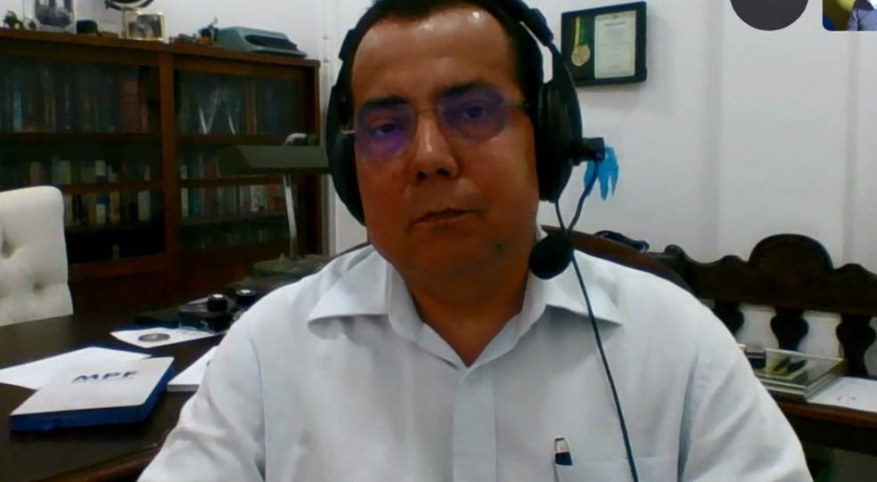 Alessandro Oliveira substituirá Deltan Dallagnol na coordenação da Lava Jato em Curitiba — Foto: Reprodução/RPC