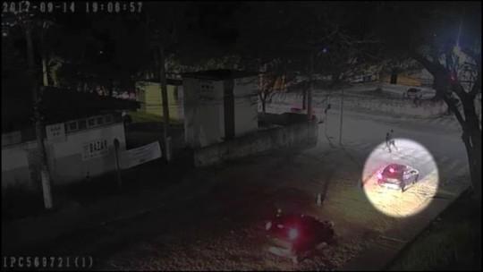 Vídeo mostra carro de intermediários deixando o Hucam antes de médica ser baleada no ES