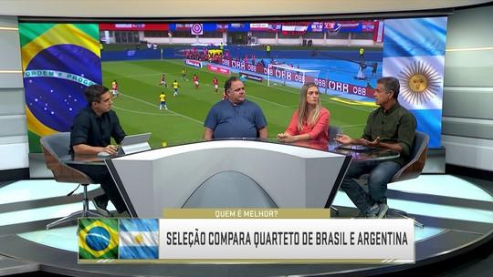 Quarteto dos sonhos? Seleção SporTV compara os ataques de Brasil e Argentina