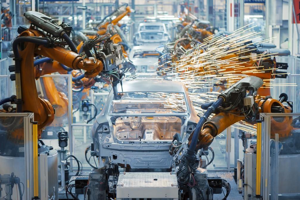 Linha de produção de veículos foi uma das mais afetadas pela greve de maio, segundo o IBGE. (Foto: Divulgação)