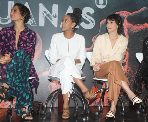 Camila PItanga, Taís Araújo e Débora Falabella (Foto: Brazil News / Amauri Nehn)