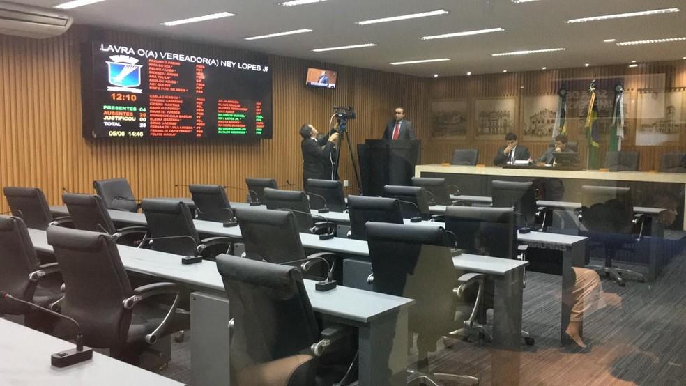 Sessão aconteceu nesta quarta-feira (5) — Foto: Heloísa Guimarães/Inter TV Cabugi