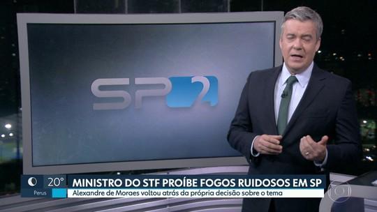 Ministro do STF proíbe fogos ruidos em São Paulo