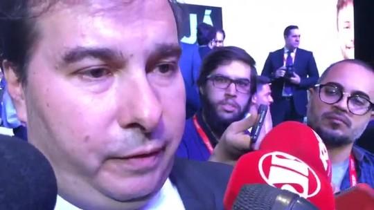 Rodrigo Maia pede 'paciência' e diz que não se pode 'pré-condenar nem pré-absolver' Temer