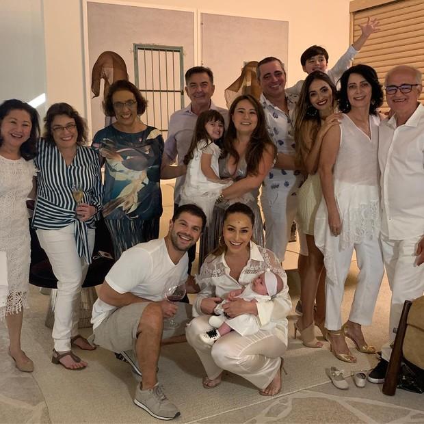 Sabrina Sato, Duda Nagle, Zoe e família (Foto: Instagram/Reprodução)