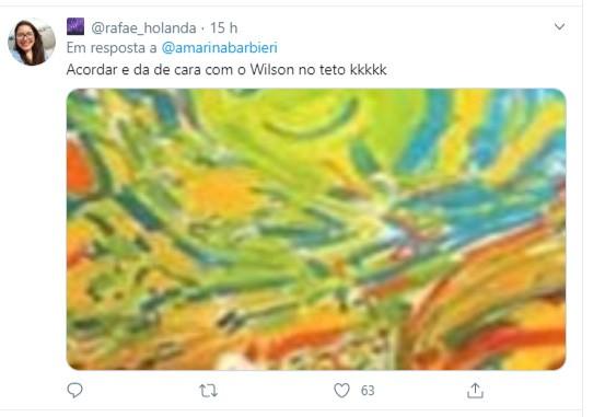 Apartamento colorido de Oswaldo Montenegro viraliza; veja (Foto: Reprodução/Twitter)