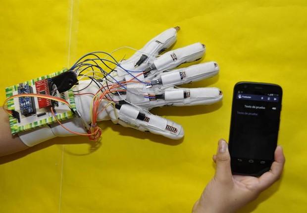 Protótipo do aparelho (Foto: EFE)