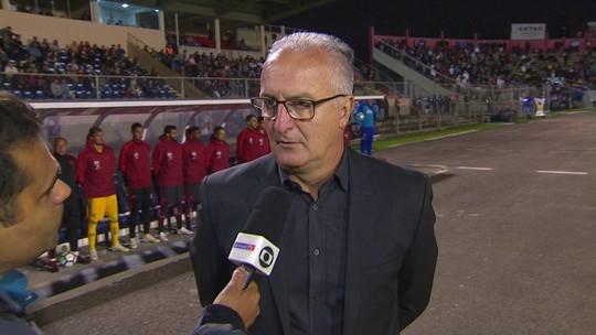 """Dorival se esquiva sobre Diego Alves: """"Grande profissional. Segunda resolvemos tudo isso"""""""